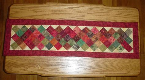 Patchwork Table Mats Pattern - quilted fall table runners patterns quilted with tlc