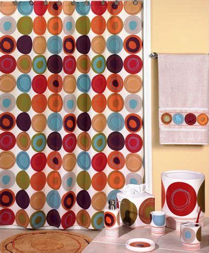 creative bath dot swirl shower curtain dot swirl multi bath accessories creative bath
