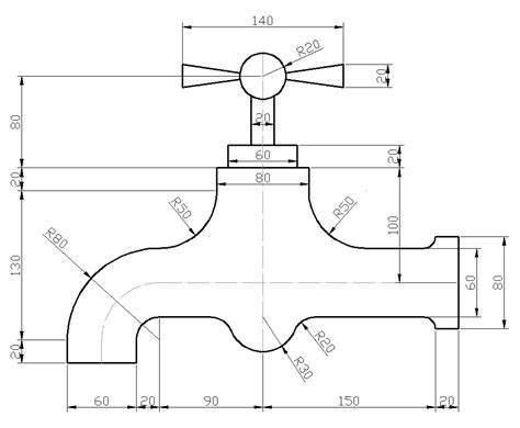 2d Cad Drawing autocad 2d drafting sabeercad
