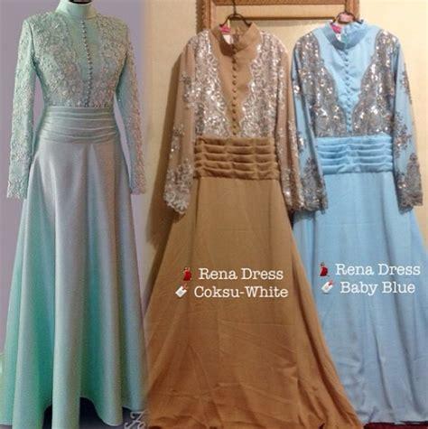 Sanya Coksu Dress Baju Pesta Hijabers Supplier Baju Pesta Murah gaun pengantin ibu galeri ayesha jual baju pesta modern syar i dan stylish untuk