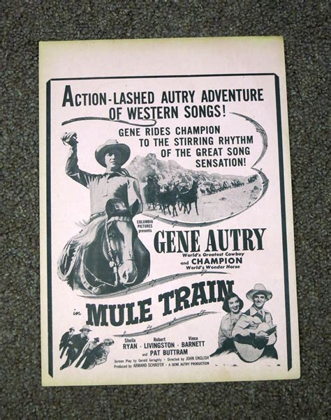 Worlds Greatest Cowboy columbia pictures presents gene autry world s greatest