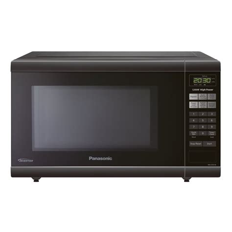 Microwave Panasonic Low Watt panasonic nnst651b 1 2 cu ft 1 200 watt countertop