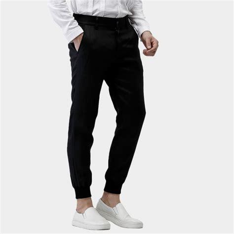 comfortable black pants beverry tight ankle comfortable fit long black pants