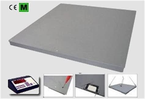 bilance a pavimento bilancia piattaforma da pavimento a 4 celle di carico