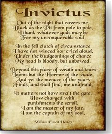 printable version of invictus image result for invictus poem pdf poems pinterest