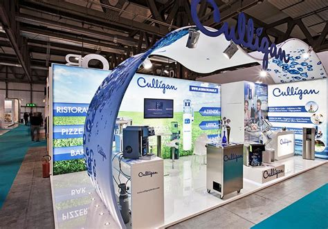 fiera illuminazione act events stand culligan alla fiera host 2013 di
