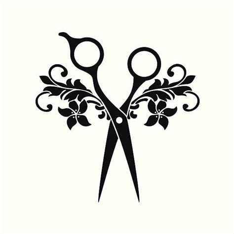 black hair clipart beauty salon pencil and in color