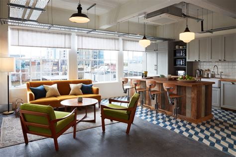 home styles seaside lodge hand rubbed white kitchen island soho house opens soho works a coworking space in