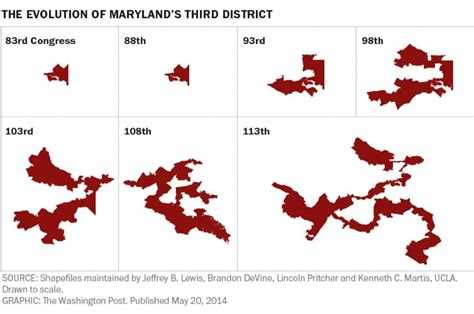 maryland gerrymandering map one easy way to end gerrymandering stop letting