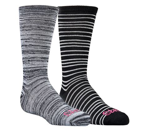 buy sandal socks buy skechers 2 pack crew socks socks shoes only 10 00