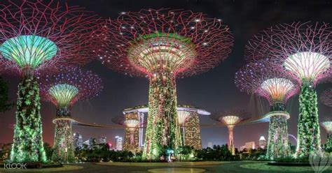 Gardens By The Bay Admission E Ticket gardens by the bay singapore ticket klook