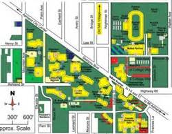 u of oregon map universityparent guide to southern oregon sou