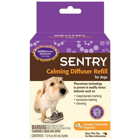 calming for dogs sentry calming diffuser for dogs refill 1 5 oz