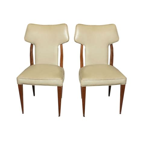 Vintage High Back Chair 2 vintage conover high back side chairs ebay