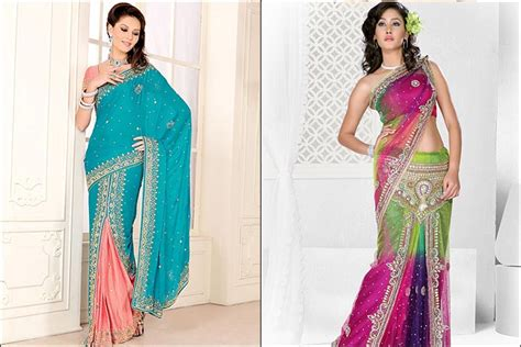 8 Simple Steps To Tie A Sari by How To Wear A Lehenga Saree In 5 Simple Steps