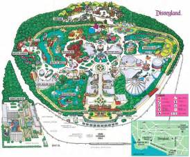 maps disneyland california disney avenue disneyland map evolution 1955 2015