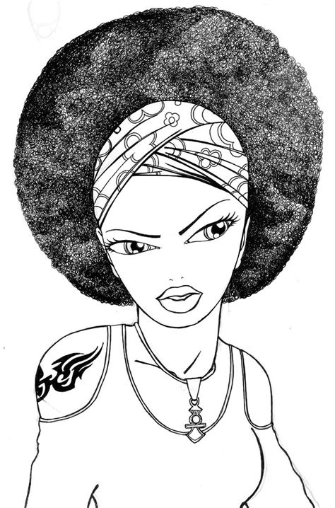 Free Black Hairstyles Book by Afro Hair Coloring Pages Coloring Pages
