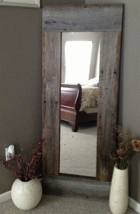 barn home decorating ideas barn wood mirror 40 rustic home decor ideas you can
