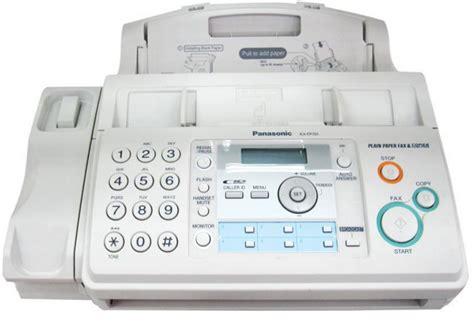 Tinta Fax Panasonic Kx Fp701 Panasonic Kx Fp701cx Plain Paper Fax Machine 2 Line