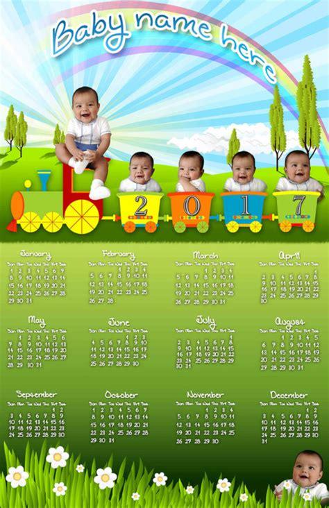Calendario Para Bebes Calendarios Espectaculares 2017 Para Imprimir Hoy Im 225 Genes