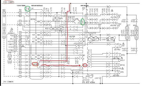 Trane Xe1000 Parts Diagram