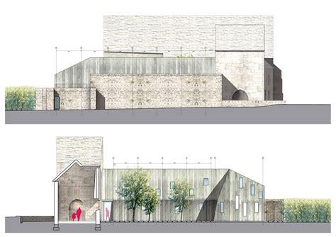 ansicht architektur geheilte wunden umnutzung und erweiterung eines alten