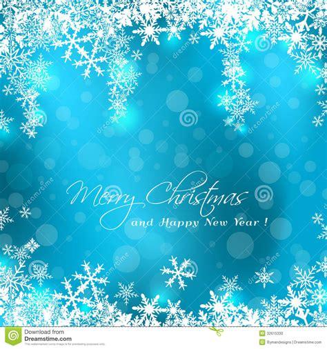 merry christmas blue card stock photo image