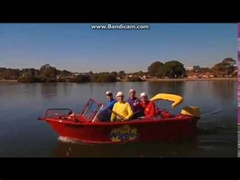 big boat song the wiggles splish splash big red boat opening scene youtube