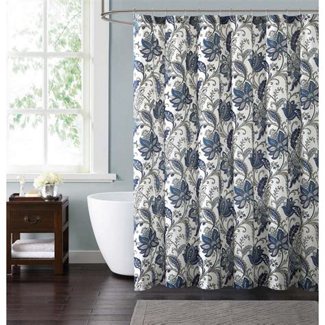 Blue And Grey Shower Curtains Grey And Blue Shower Curtains Curtain Menzilperde Net