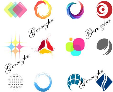 cara desain logo perusahaan 简约彩色logo 素材中国sccnn com