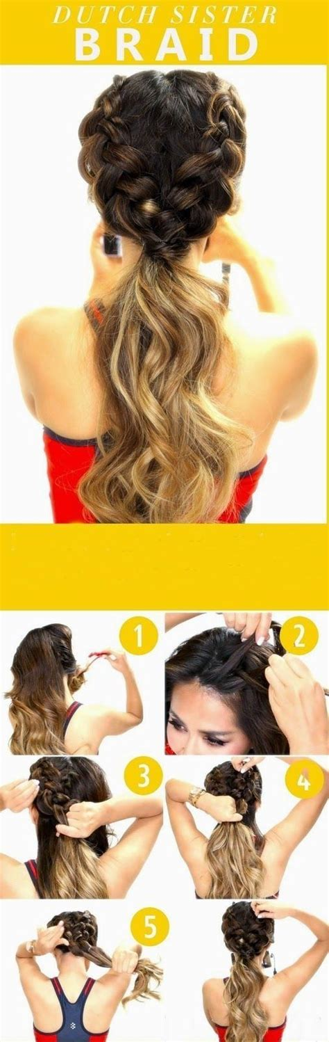 cute hairstyles and how to do it 10 super trendy easy hairstyles for school popular haircuts