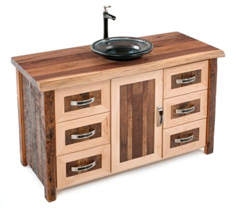 Rustic Modern Bathroom Vanities by Vanities Rustic Bathroom Vanities Barnwood Vanities