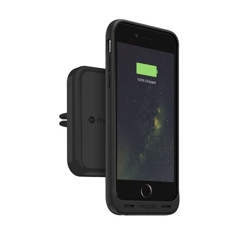 charge qi wireless car charger vent mount mophie