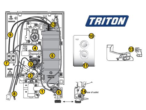triton t80z shower spares and parts triton t80z