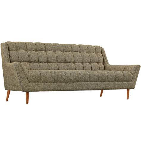 contemporary tufted sofa response contemporary button tufted upholstered sofa oatmeal
