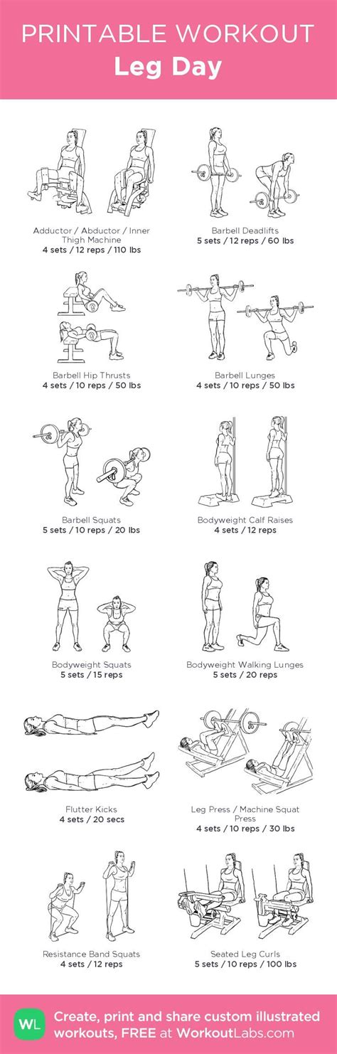 printable exercise routines for weight loss pictures printable workout plans for women daily quotes