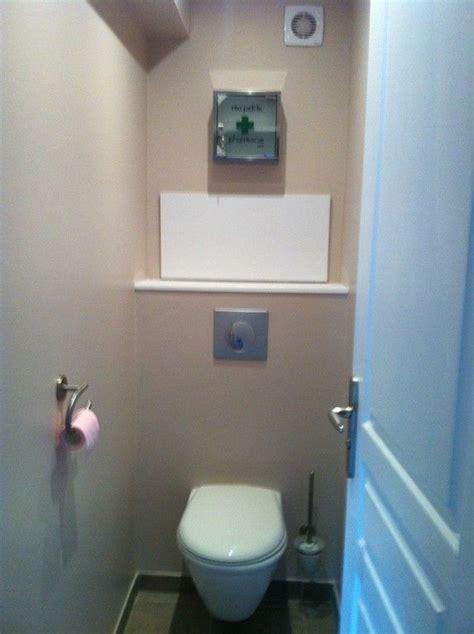 Installation wc suspendu avec trappe de visite