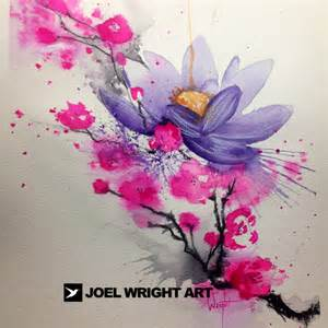 Watercolour Lotus Watercolor Tattoos And Artwork