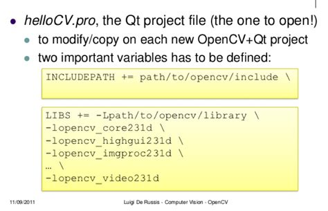 qt tutorial osx setting up opencv in qt on osx stack overflow