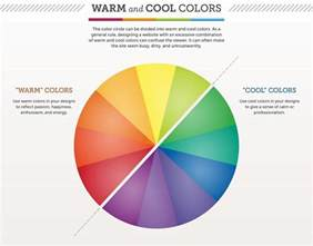 warm colors vs cool colors warm vs cool colors infographic