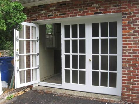 glass garage doors garage conversion 8 best frenchporte garage doors images on