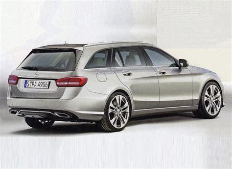 2015 mercedes c class wagon leaked digital trends