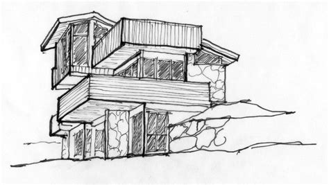 simple architecture house design sketch mapo house and popular simple architectural sketches and simple