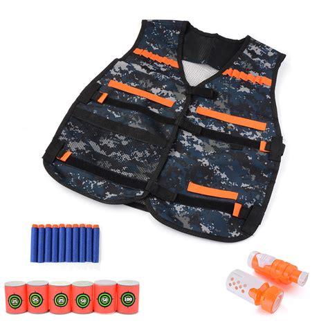 Nerf Vest tactical vest ammo pistol blaster bullet sleeve holster