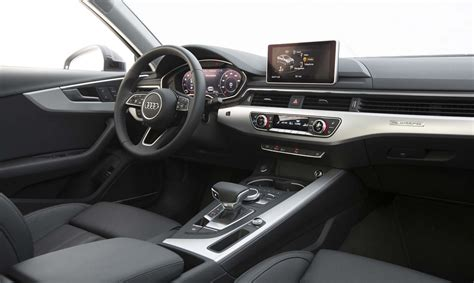 audi upholstery 2017 audi a4 quattro first test review