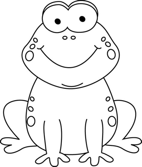 frog clipart black and white black and white frog clip black and white
