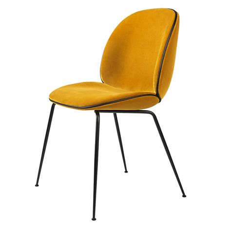 yellow upholstered dining chair beetle fully upholstered dining chair yellow velvet