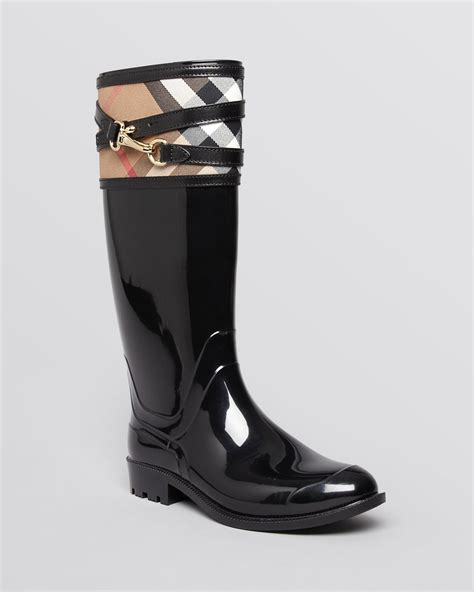 Elder Ford by Lyst Burberry Boots Elderford In Black
