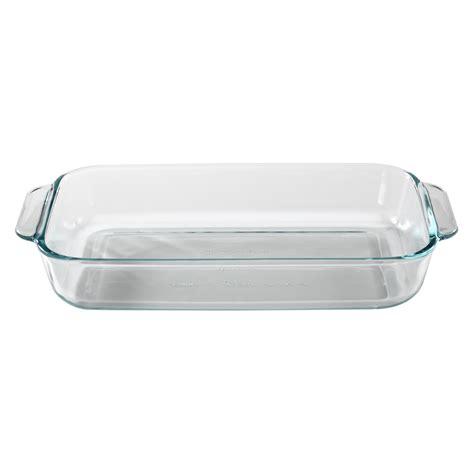 Pyrex 3 9l Oblong Dish pyrex basics 3 quart oblong baking dish clear