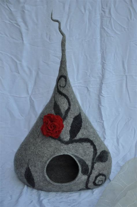 pattern cat cave 1000 images about felted vessels on pinterest wool